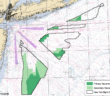 BOEM has outlined draft wind energy areas in the New York Bight. BOEM image.