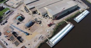 Conrad Industries provides both repair and new construction services at its five shipyards located in southern Louisiana and Texas. Conrad Industries photo