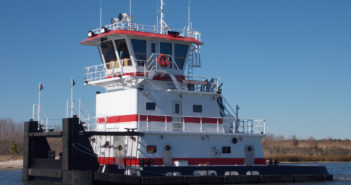 A new 67'x28' towboat for Waterfront Services. Master Marine photo