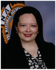 Zinnia James was appointed special agent in charge for the Coast Guard Investigative Services Southeast region.