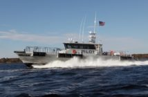 Gladding-Hearn Shipbuilding delivered a new 75' launch for the Southwest Alaska Pilots Association. Gladding-Hearn photo.