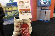 Santa sacks full of warm socks for the New Orleans Mission donated by Genoa Design International. Susan Chesney photo