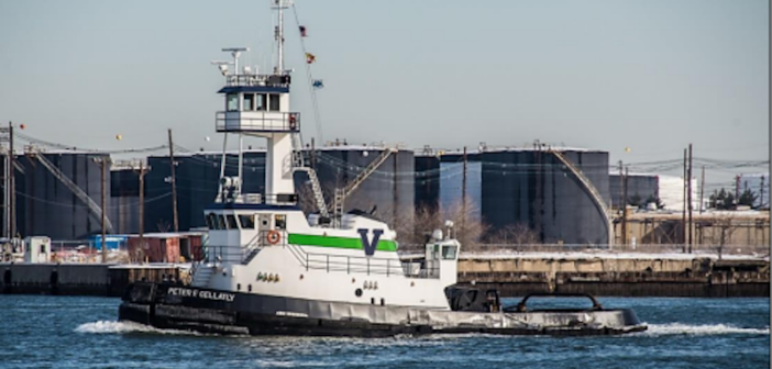 The towing vessel Peter F Gellatly. Photo by John Skelson