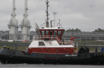 First of 10 Z-Tech 30-80 terminal/escort tugs that will operate in Houston. Gulf Island Shipyards photo