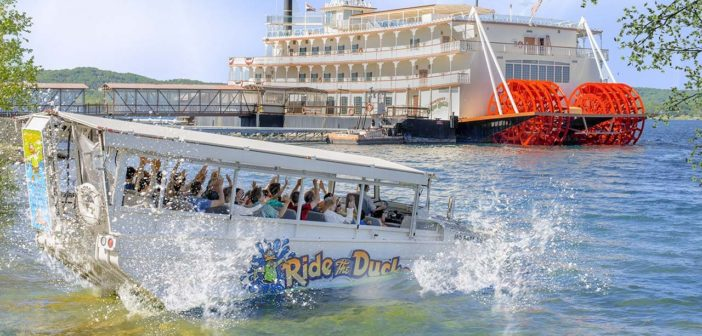 In July 2018, an amphibious duck boat, operated by Ride the Ducks Branson, carrying 31 people foundered and sank on a lake near Branson, Mo., leaving 17 dead, the deadliest accident ever involving the popular tourist boats. In November, a federal grand jury indicted the duck boat's captain for negligence and in attention. Branson/Lakes Area Convention and Visitors Bureau photo