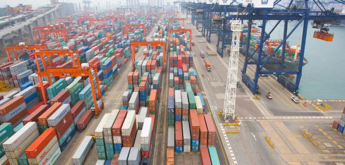 Cosco HIT terminal in Hong Kong. Cosco Shipping Ports Ltd. photo