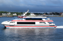 Cross Sound Ferry's 143' Cecelia Ann, built by Austal shipyard in Mobile, Ala., in 2003. Photo courtesy of Cross Sound Ferry