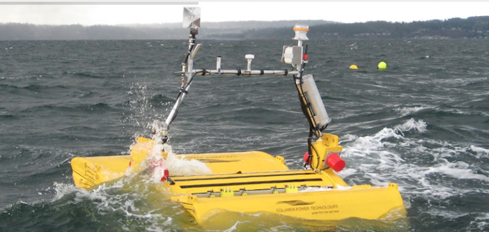 Columbia Power Technologies will design and test a prototype low-power wave energy converter. Columbia Power Technologies photo