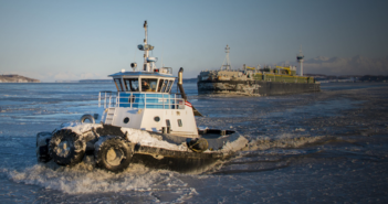 Cook Inlet Tug & Barge (CITB), a subsidiary of Foss Maritime, has purchased all of Crowley's Prudhoe Bay, Alaska, assets. CITB photo