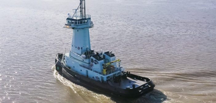 Another new tug for Kirby Offshore Marine from Alabama's Master Boat Builders. Master Boat Builders photo