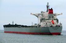 The bulk carrier JSW Salem ran aground Jan. 10 off Virginia Beach, Va. Shipspotting photo.