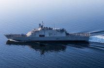 Fincantieri Marinette Marine will build a 16th littoral combat ship for the Navy. Lockheed Martin Corp. photo