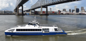 One of two new 149-passenger ferries expected to begin running the downtown route soon. Metal Shark photo