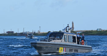 The vessels were commissioned on Jan. 23 at DCCG's Station Aruba in the district of Savaneta on Aruba's southeast coast. Metal Shark photo