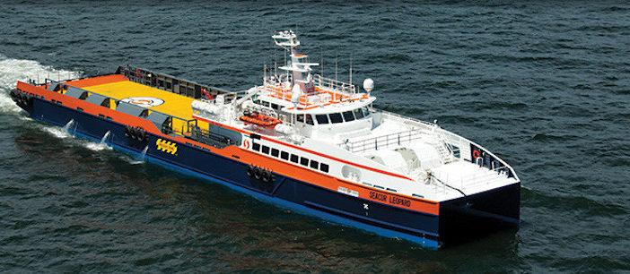 The Seacor Leopard. Seacor Marine photo