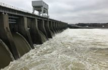 The Tennessee Valley Authority is managing water levels at the Kentucky Dam and other structures to control flooding and river levels across the region. TVA photo.