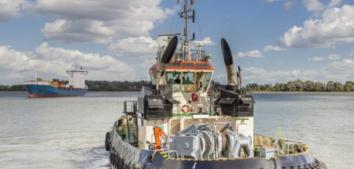Workboat operators will face increasing demands to upgrade their cybersecurity safeguards. ABS photo