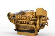 Caterpillar Tier 4 engines achieve lower emissions with selective catalytic reduction (SCR) technology. Caterpillar photo