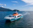 The new ferry will operate on Kitsap's current cross-sound route between Bremerton, Wash., and downtown Seattle. All American Marine photo