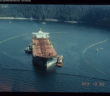 The Exxon Valdez on April 13, 1989. Photo courtesy of ARLIS