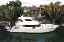 The No Rules II is for sale after a federal judge sentenced its owner for defying Coast Guard orders to stop his illegal chartering. Yachtworld.com photo
