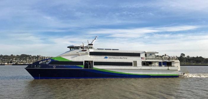 The Pyxis operates on the San Francisco Bay Ferry's Vallejo route. WETA photo