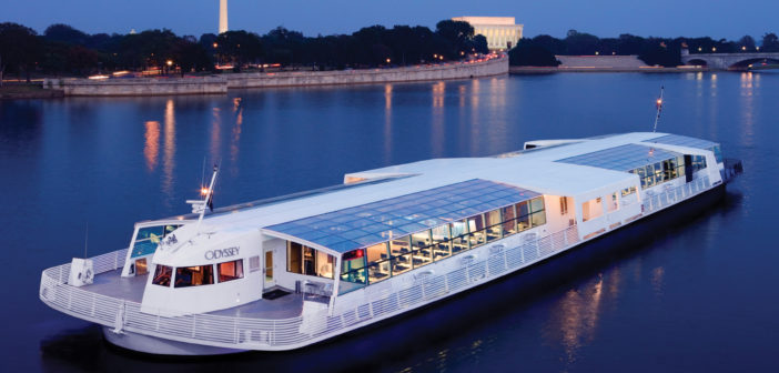 Built in 1995 the steel-hulled vessel has entertained thousands of people while serving Washingtonians and their guests. Cummins photo