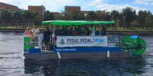 Kraken CycleBoats operates in Tampa., Fla. Cascade Cycleboats photo