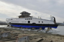 The ferries have been built to Damen's Road Ferry 8117E3 design. Damen Shipyards photo