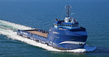 A Wärtsilä solution will make the Harvey Energy the first PSV in the Americas to be retrofitted for hybrid propulsion. Photo courtesy of Harvey Gulf