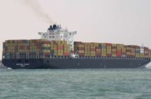A crewman was lost overboard from the containership Northern Jaguar while preparing to take on a pilot inbound to the Port of New York and New Jersey. Shipspotting.com photo