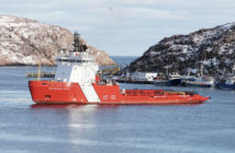 The Canadian coast guard icebreaker Captain Molly Kool was welcomed to its new homeport of St. John's, Newfoundland, May 30, 2019. Shipspotting.com photo