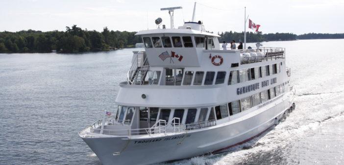 Gananoque Boat Line is the 1000 Islands largest hospitality cruise operator. Entertainment Cruises photo