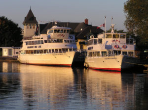 The town of Gananoque is also just 15 minutes from the border crossing into New York State via the 1000 Islands Bridge. Entertainment Cruises photo