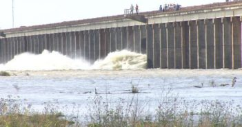 The Corps of Engineers may open the Morganza Spillway in Louisiana if Mississippi River levels continue to rise. FEMA photo