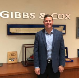 Matthew Garner, assistant vice president, ship design for Gibbs & Cox. Gibbs & Cox photo