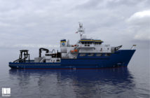 Taani Class research vessel. Glosten rendering