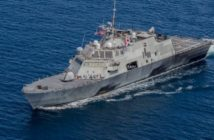 The Navy's Freedom-class Littoral Combat Ship is among the almost 7,000 vessels Gibbs & Cox has designed since 1929. U.S. Navy photo