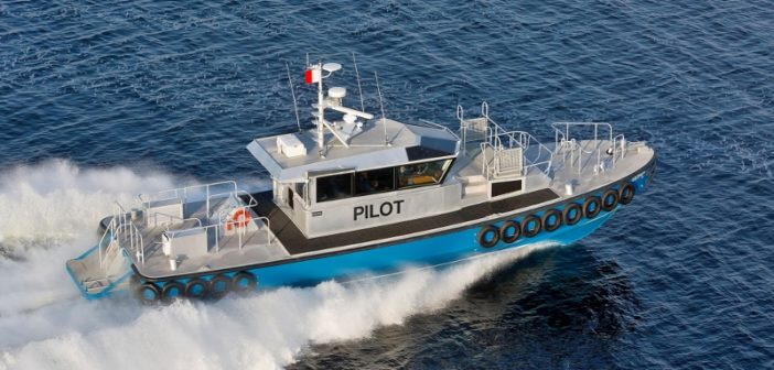 The Savannah Bar Pilots boat Georgia. The pilots' requirements for a new vessel currently cannot be met with Tier 4-compliant engines, the EPA says. Vigor photo