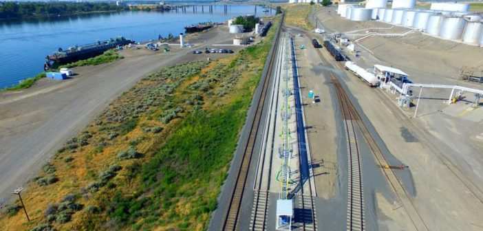 Tidewater Transportation opens train-to-barge transloading