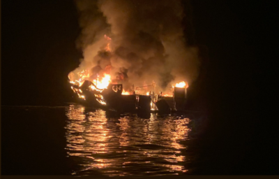 Captain charged with seaman's manslaughter in 2019 dive boat fire that killed 34