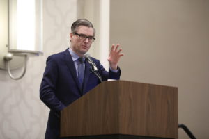 Jason Folsom, national sales director MHI Vestas. Doug Stewart photo.