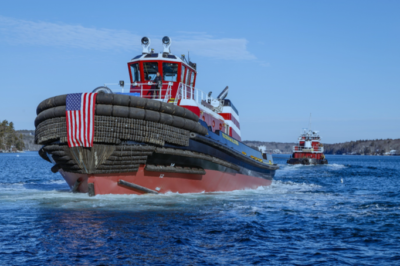 Washburn & Doughty delivers Tier 4 tractor tug to McAllister Towing