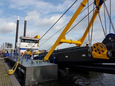 Damen completes electric cutter suction dredger