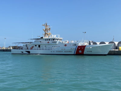 Bollinger delivers first of three USCG FRCs to be homeported in Guam