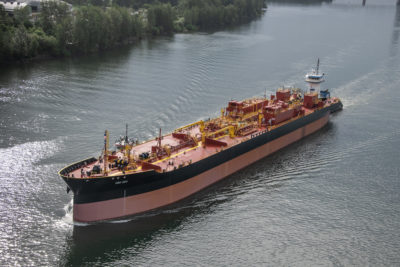 Greenbrier delivers new tank barge to Overseas Shipholding Group