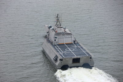 Austal USA delivers 12th LCS to Navy