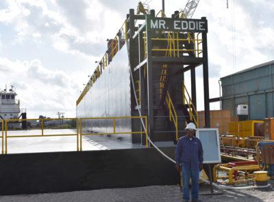 Bollinger Shipyards completes new drydock
