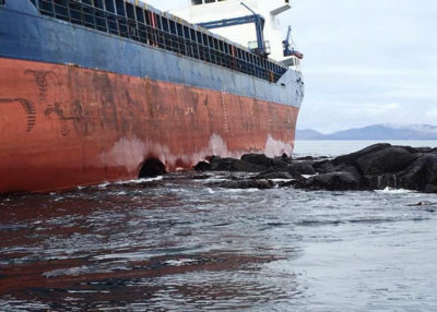 Resolve Marine recovers grounded vessel and hazardous cargo