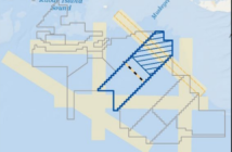 The Bureau of Offshore Energy Management's supplemental environmental impact statement for the Vineyard Wind project considers a proposal for four nautical-mile-wide vessel transit lanes. BOEM image.
